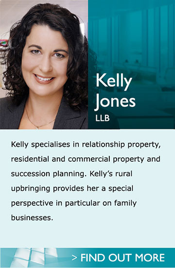 Lawyers in Pukekohe Auckland - Kelly Jones - Kelly specialises in relationship property, residential and commercial property and succession planning. Kelly's rural upbringing provides her a special perspective in particular on family businesses.<br /><br />