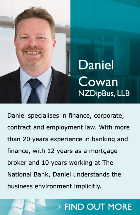 Employment law specialist, Daniel Cowan